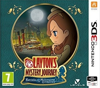 Gamewise Layton's Mystery Journey: Katrielle and the Millionaire's Conspiracy Wiki Guide, Walkthrough and Cheats