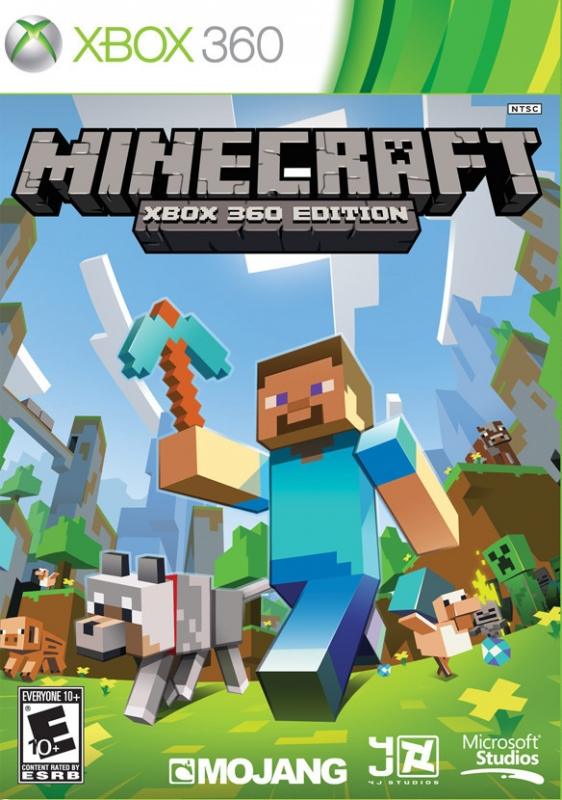 Minecraft on X360 - Gamewise
