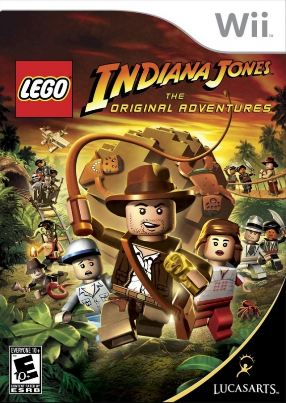 LEGO Indiana Jones: The Original Adventures on Wii - Gamewise