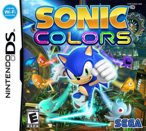 Sonic Colours on DS - Gamewise