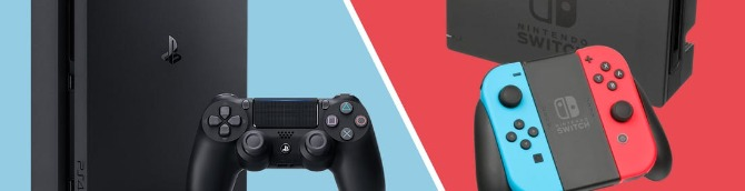 Switch vs PS4 – VGChartz Gap Charts – March 2020