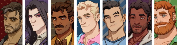 Dream Daddy: Dadrector's Cut Release Date Revealed for Switch and Smartphones