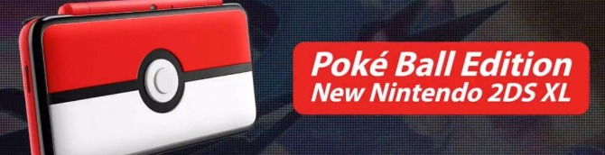 Poké Ball Edition New 2DS XL Coming November 3