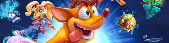 Crash Bandicoot 4: It's About Time Debuts in 5th on the Japanese Charts