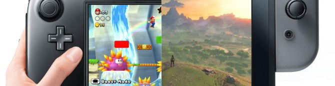 Switch vs Wii U – VGChartz Gap Charts – February 2018 Update