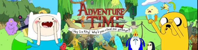 Adventure Time: Hey Ice King! Why'd You Steal Our Garbage? (3DS)