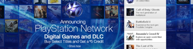 Amazon Launches PlayStation Network Store