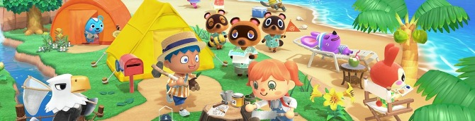Animal Crossing: New Horizons Tops the UK Charts, Maneater Debuts in 6th