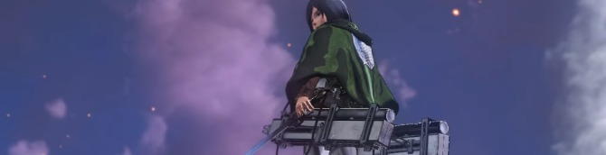Attack on Titan 2 Gets Switch and PSV Gameplay Trailers