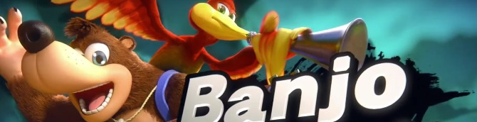 Banjo-Kazooie Composer Wrote Music for Super Smash Bros  Ultimate