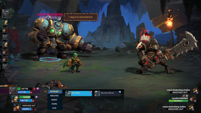 Battle Chasers Nightwar difficulty