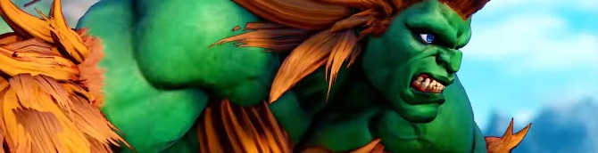 Blanka Coming to Street Fighter V: Arcade Edition Next Week