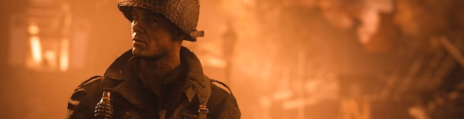 Call of Duty: WWII Launches November 3, Reveal Trailer Released