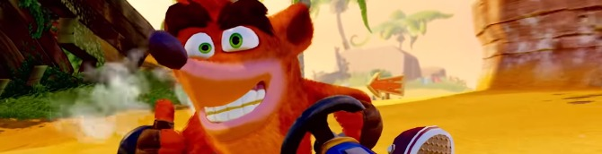 Crash Team Racing Nitro-Fueled Debuts at the Top of the Swiss Charts