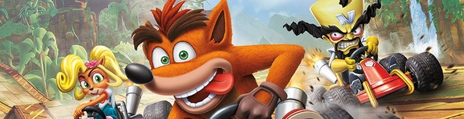 Crash Team Racing Nitro-Fueled Tops the French Chart in 1st Week