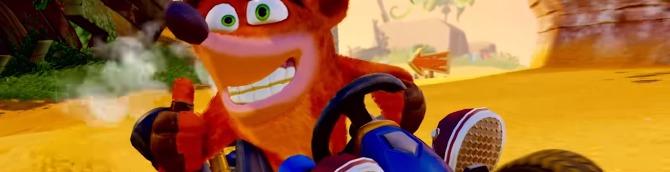 Crash Team Racing Nitro-Fueled Trailers Focuses on Crash, Coco and
