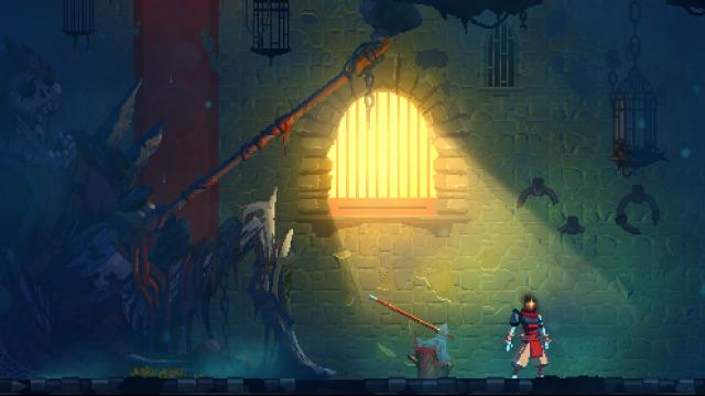 Dead Cells dungeon