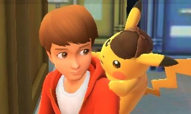 Tim and Pikachu
