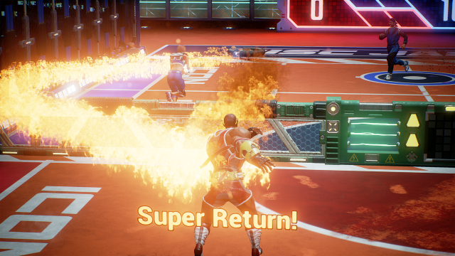 Disc Jam super return