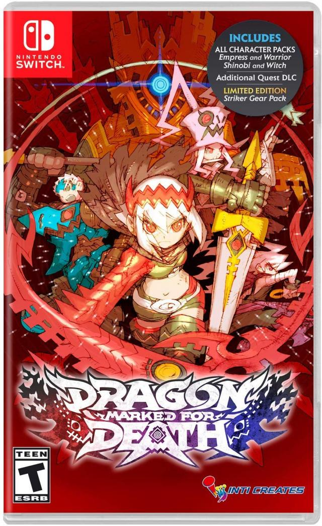 Dragon Marked for Death box art