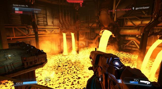 Doom Beta lava