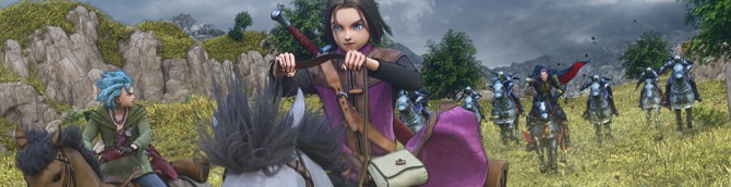 Dragon Quest XI Tops Japanese Charts for 3rd Week