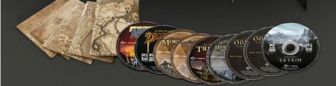 Elder Scrolls Anthology Collects All Five Games in One Package