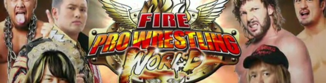 Fire Pro Wrestling World Coming to PS4 This Summer