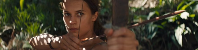 First Trailer for the New Tomb Raider Movie Released
