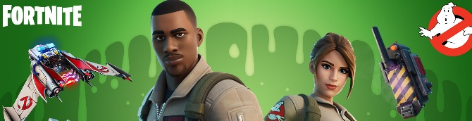 Fortnite Adds Ghostbusters-Themed Items in the Shop