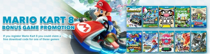Free Wii U Game with Purchase of Mario Kart 8 & Deluxe Set Announced