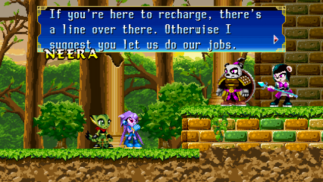 Freedom Planet story