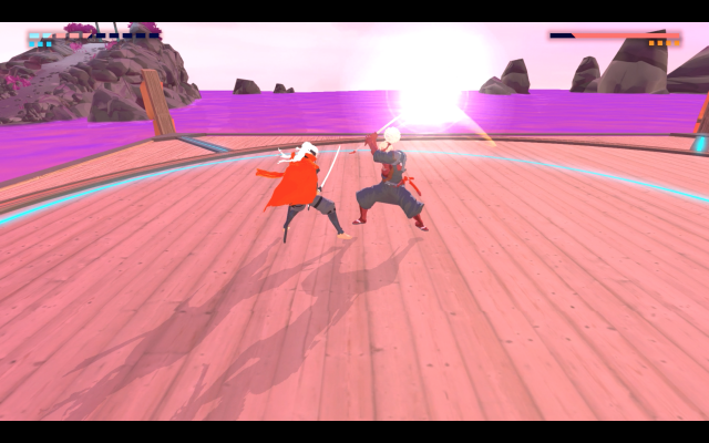 Parrying in Furi