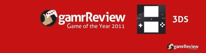 gamrReview 2011 Game of the Year Awards - 3DS