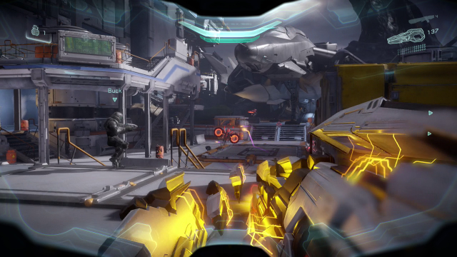 Halo 5 shooting prometheans