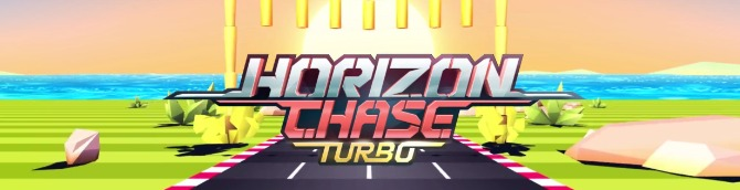 Horizon Chase Turbo Launches for in Spring 2018 for PS4, PC