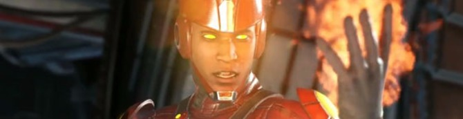 Injustice 2 Trailer Introduces Firestorm