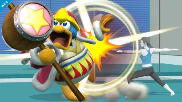 King Dedede gets whipped into fighting shape!