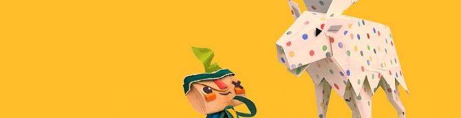 LittleBigPlanet's LittleBigSuccessor: Tearaway set for October 22