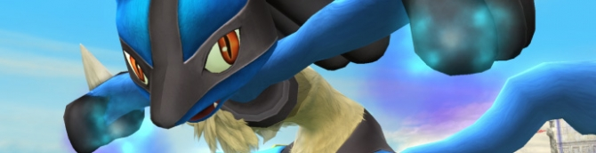 Lucario is Back in Super Smash Bros. Wii U/3DS