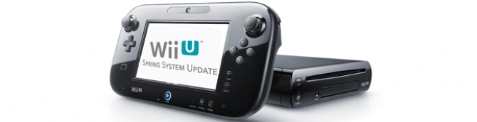 Major Wii U System Update - the What and the When