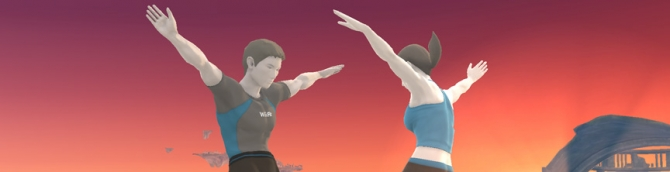 Male Wii Fit Trainer Weighs In for Super Smash Bros.