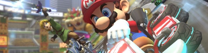 Mario Kart 8 Deluxe Remains Atop the Japanese Charts in Slow Week