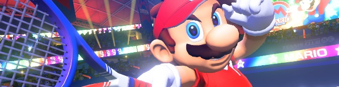 Mario Tennis Aces Launches June 22 for Switch