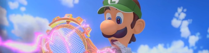 Mario Tennis Aces Remains Atop the Japanese Charts