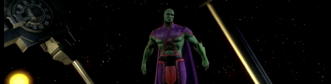 Martian Manhunter Coming to Injustice: Gods Among Us