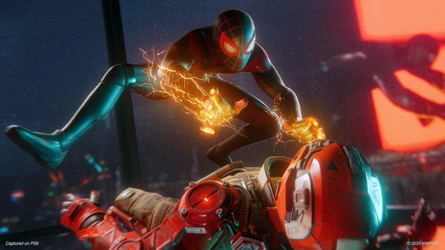 Spider-Man: Miles Morales Tops the UK Charts