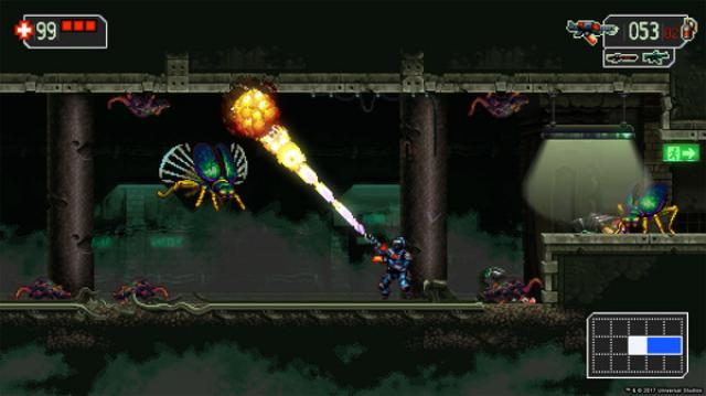 The Mummy Demastered flame thrower