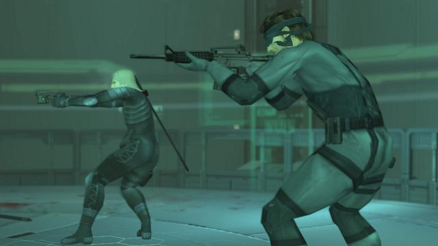 Raiden and Solid Snake
