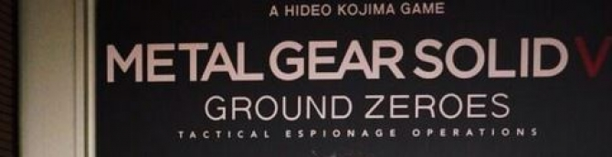 Metal Gear Solid V: Ground Zeroes Has Exclusive PlayStation Content